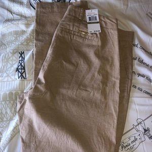 New Authentic Michael Kors Linen pants